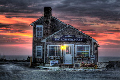 sunset sunrise massachusetts plymouth lobster chowder manomet deaddogseye
