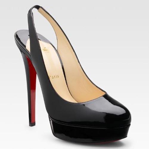 best loved b741b f0d69 Christian-Louboutin-Shoes-Bianca-Patent-Leather-Slingbacks ...