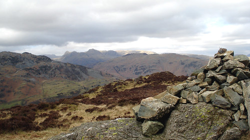 From Holme Fell to Langdale Pikes   by walkinguphills