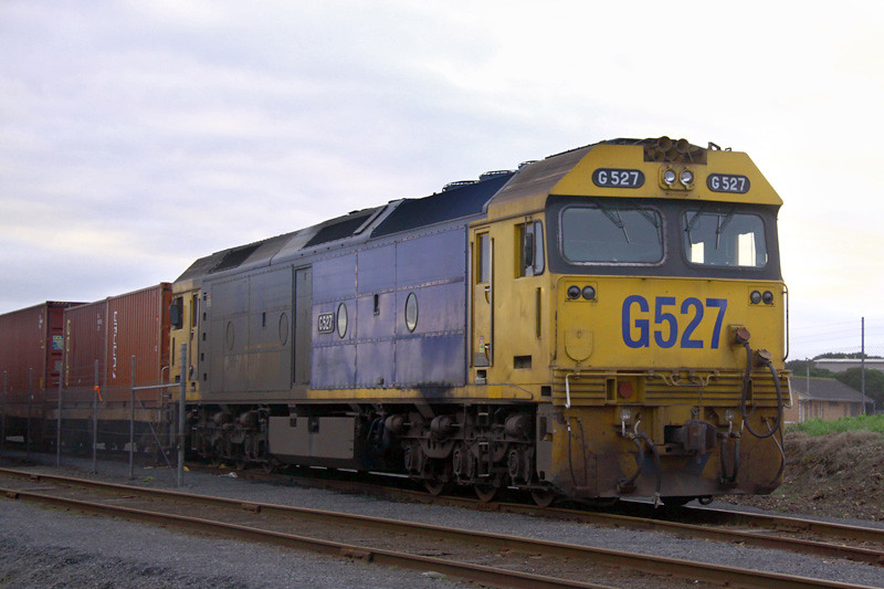 G527 at Westvic container yard by Corey Gibson