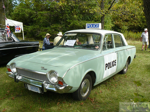Vintage British Police Car?