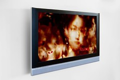 Screen with ShinyArt video art