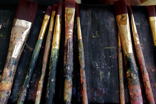 Paint brushes, Creative Commons | by Futurilla
