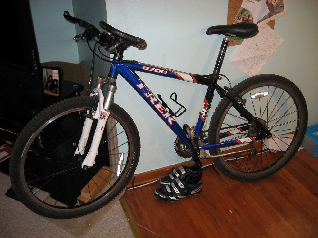 2002 Trek 6700 | This is the Trek 6700 shortly after I bough