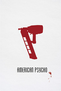 American Psycho movie poster | Tribute to the movie starring