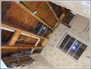Ceiling Removed | by Farmhouse Love