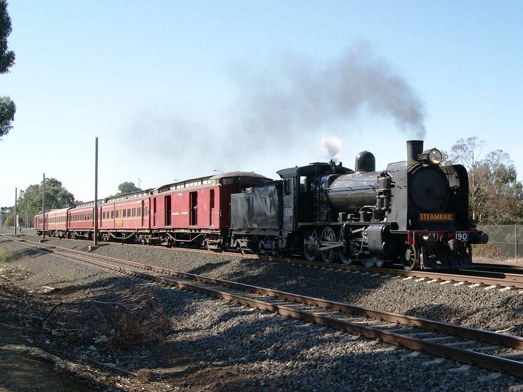 Steamrail Victoria by Shawn Stutsel