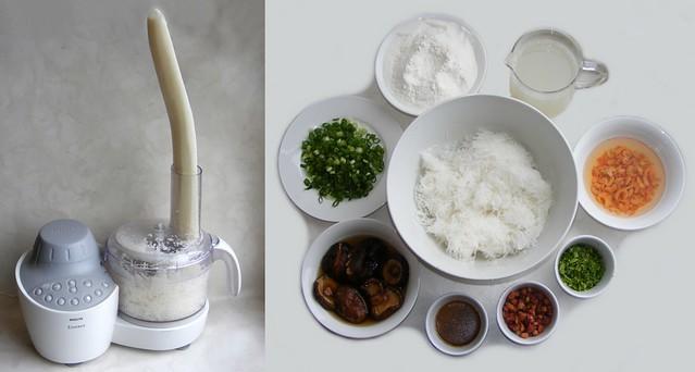 Turnip Cake Recept