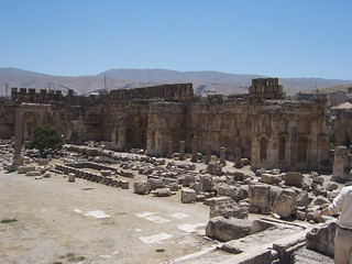 The Great Court at Baalbek (IX)