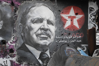 Abdelaziz Bouteflika painted portrait _DDC3108 | by Abode of Chaos