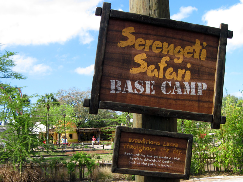 Serengeti Safari Base Camp Nairobi Busch Gardens Tampa Flickr