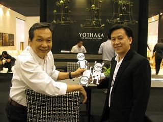 Yothaka and Sook