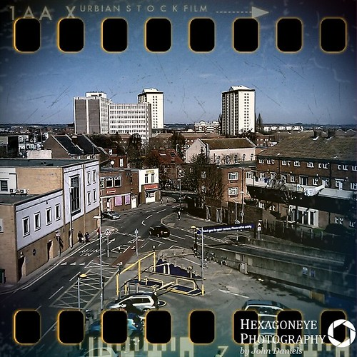 78/365 Fake Pinhole over Portsmouth | by Hexagoneye Photography