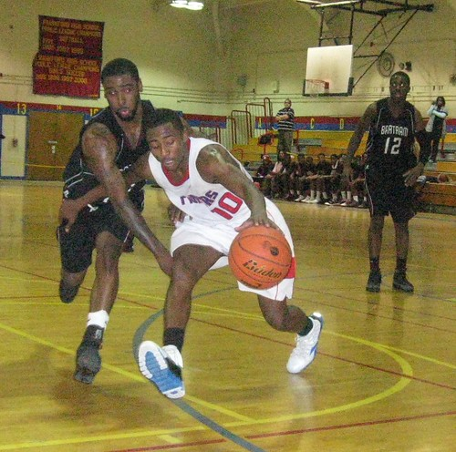 Frankford's Keith Washington recovers a loose ball vs. Bartram in this 2011 game. | by tedtee308