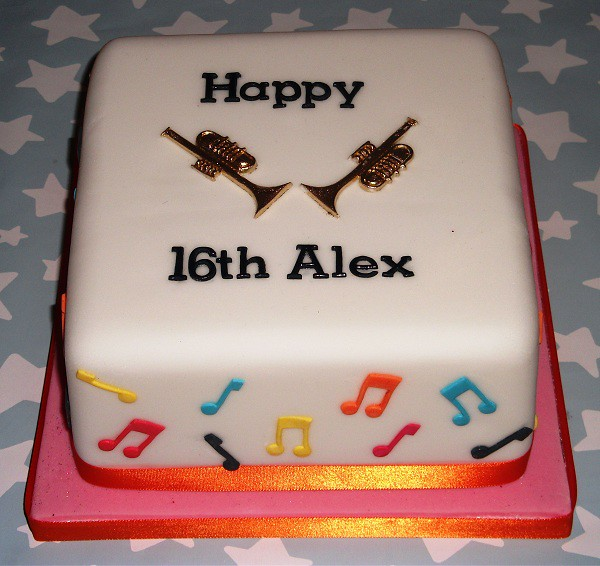 Astounding Trumpet Music Birthday Cake This Is The Perfect Cake For A Flickr Funny Birthday Cards Online Aeocydamsfinfo