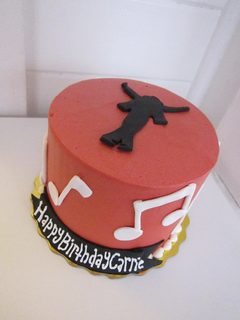 Miraculous Michael Jackson Birthday Cake Polkadots Olga Flickr Personalised Birthday Cards Cominlily Jamesorg