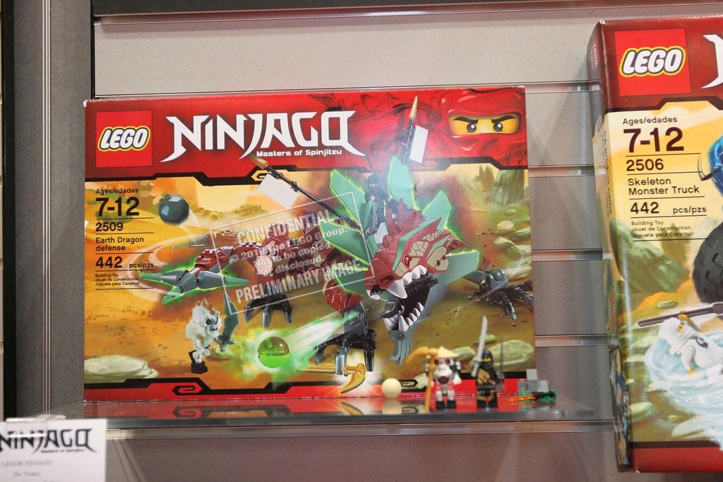 NEW Lego 2509 Ninjago Earth Dragon Defense