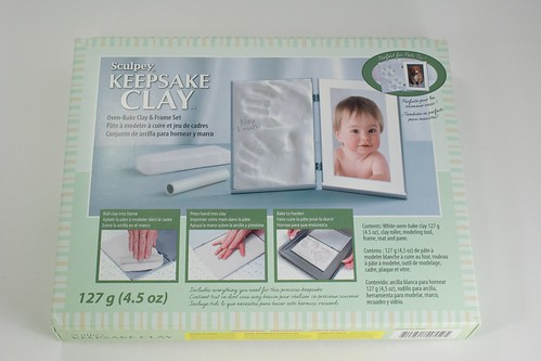 Sculpey Keepsake Clay Frame Kit | by CraftyGoat