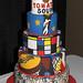 Artsy Fartsy Cake by Renee Main