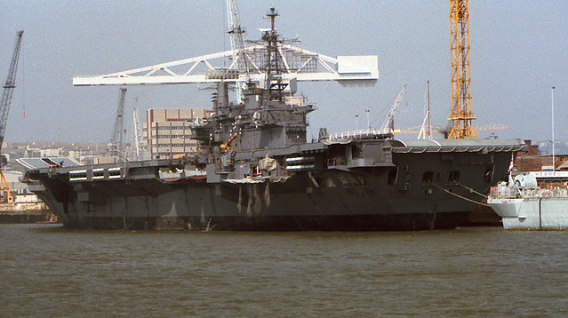INS Viraat - HMS Hermes