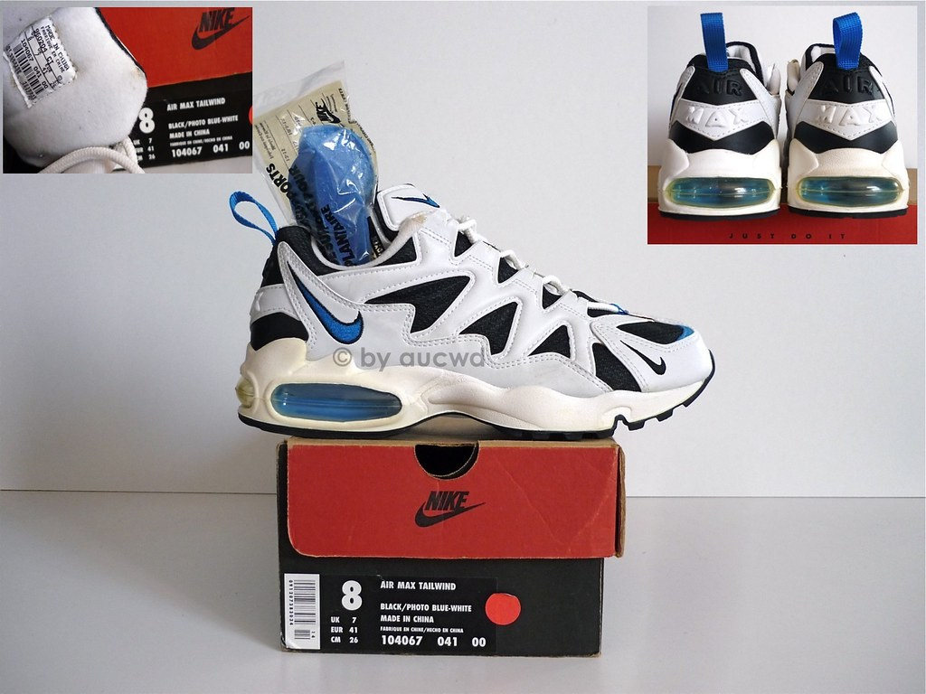 info for d990a 6e978 ... UNWORN 80`S   90`S VINTAGE NIKE AIR MAX TAILWIND SHOES   by