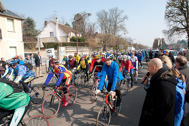 Tous cyclistes en Yv elines - Conseil Gén éral des Yvelines -  Crédit photos Stephe n Fourmont