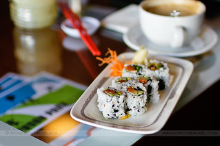 sushi & coffee | by mohini :: mangopowergirl.com