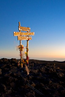 The highest point in Africa | by b.heliker