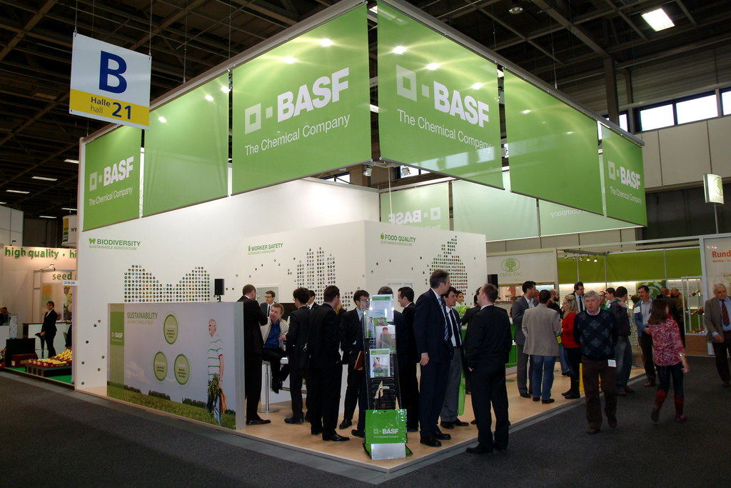 BASF stand | BASF presence at the Fruit Logistica 2011 was c