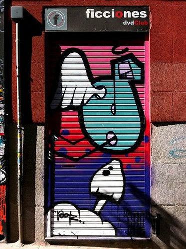Malasaña legal graffiti day: ficciones   by MarcoLaCivita