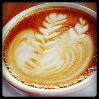 Lively latte   by Carl Black