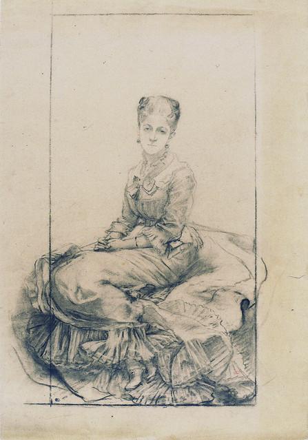 Marie Bracquemond: Study for
