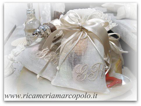 Porta Bomboniere Matrimonio.Bomboniere Matrimonio Sacchettini Porta Confetti L Arte Di
