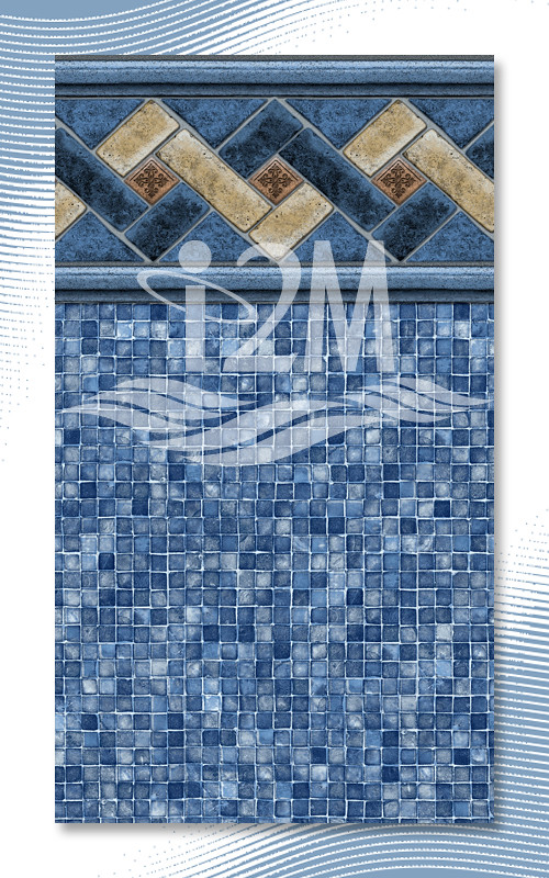 i2m-Mountain Top-Mosaic-LtBlue - Swimming Pool Liner Desig ...