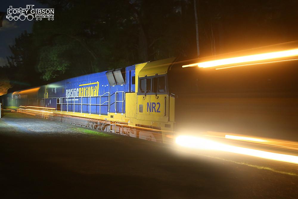 NR2, NR41 & DL41  streak through Mt Lofty Station with the 5AM5 by Corey Gibson