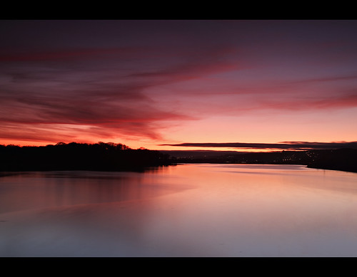 ocean pink ireland sunset red sea seascape island cork eire waters fota carrigtwohill