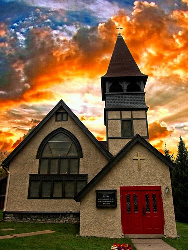 """autumn sunset sky orange house ny tower church leaves st parish architecture clouds see downtown state gothic style landmark historic historical notable 18 must johns episcopal attraction marcellus """"new 1830 york"""" county"""" onasill """"onondaga"""