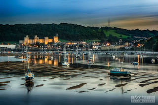 Conwy town, castle & marina