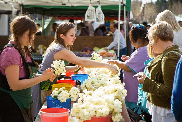 At the Farmer's Market