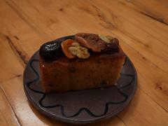 木, 2010-12-16 20:14 - Patisserie Kuroiwa フルーツパウンドケーキ