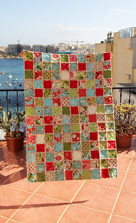 Rag Quilt 12 Days of Christmas