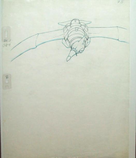 Heavy Metal Movie Drawing Cel Art Taarna 1981 Original Art Flickr