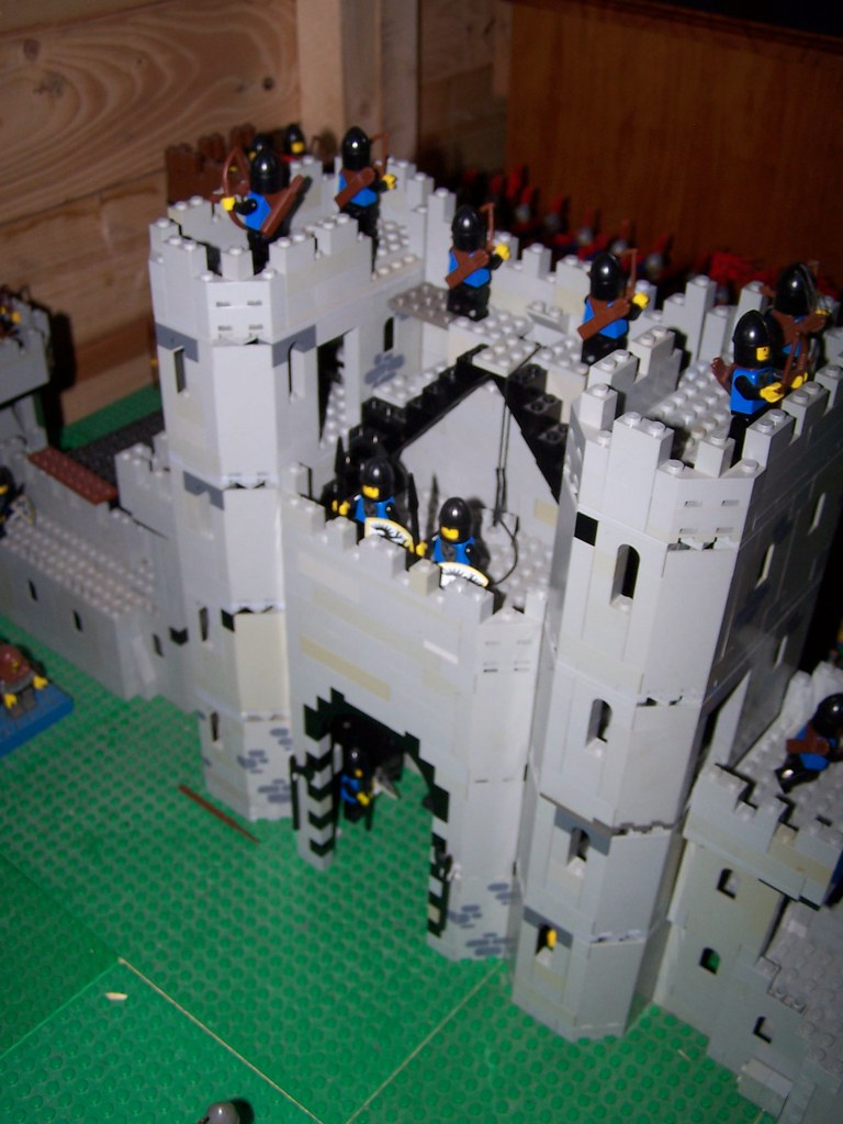 Lego Falcon Castle Gate House Gate House Rear The Towers Flickr