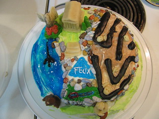 Percy Jackson & the Olympians cake | by LaughingStarfish/dstroy