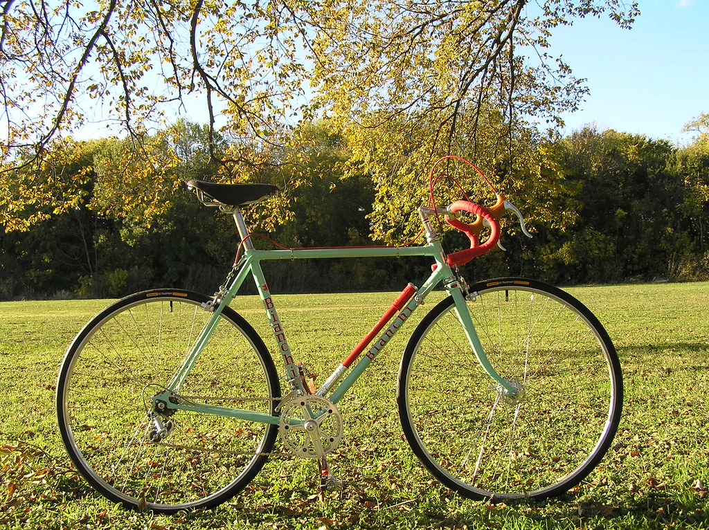 1972 Bianchi Record | Restored 1972 Bianchi Record  Paint by… | Flickr