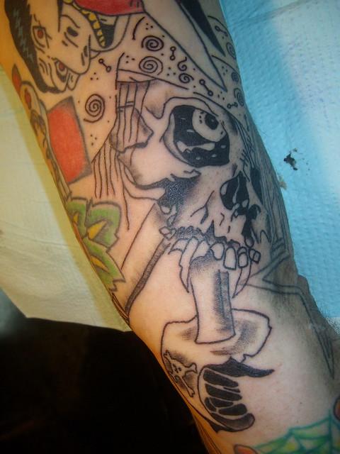 Metallica Zorlac Pirate by Pushead Tattoo