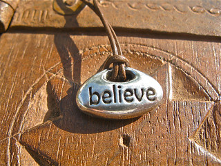 Believe necklace | by Indalo Art