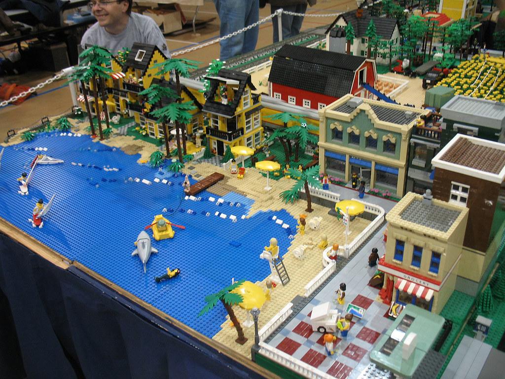 Michigan Lego Train Club At Ann Arbor Train Show Saline M Flickr