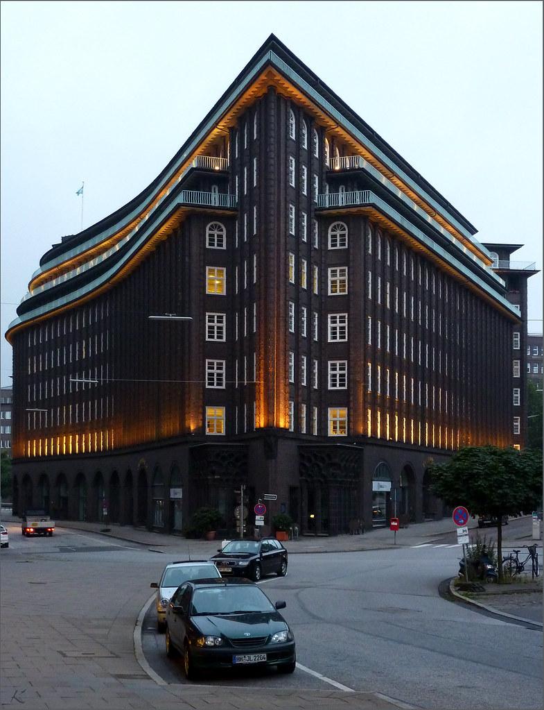 Chilehaus Hamburg Chilehaus in Hamburg Kontorhaus aus d u2026 Flickr