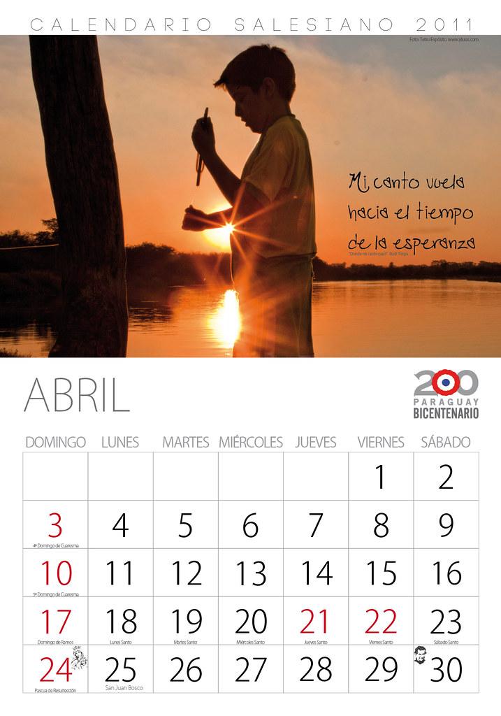 2011 Calendario.Calendario 2011 Guillermo Sandoval Flickr